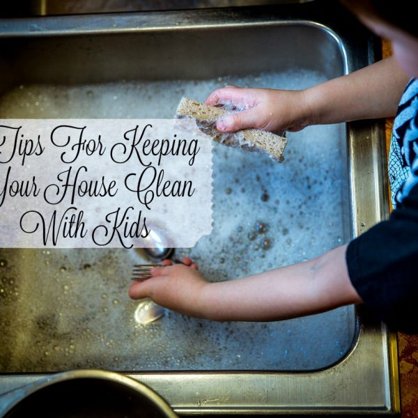 3 Tips For Keeping Your House Clean With Kids