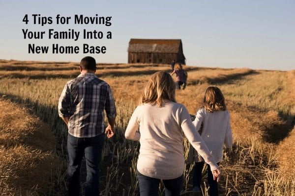 4 Tips for Moving Your Family Into a New Home Base from North Carolina Lifestyle Blogger Adventures of Frugal Mom