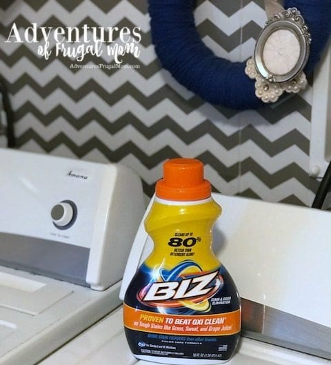 Giving Laundry The _Biz_ from North Carolina Lifestyle Blogger Adventures of Frugal Mom