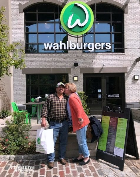Spending Our Anniversary at Wahlburgers