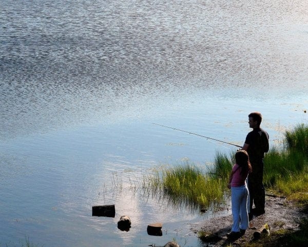 Taking Your Kids on Their First Fishing Trip from North Carolina Lifestyle Blogger Adventures of Frugal Mom