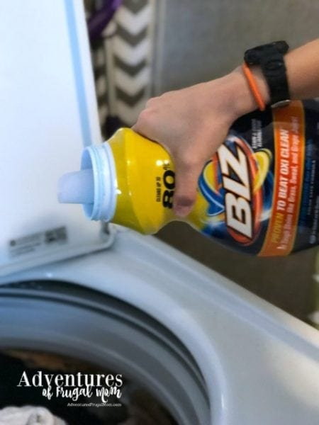 Biz Helps Fights those Summertime Stains from North Carolina Lifestyle Blogger Adventures of Frugal Mom