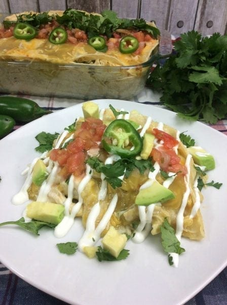 Chicken Enchilada Casserole from North Carolina Lifestyle Blogger Adventures of Frugal Mom