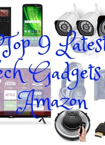 Top 9 Latest Tech Gadgets on Amazon