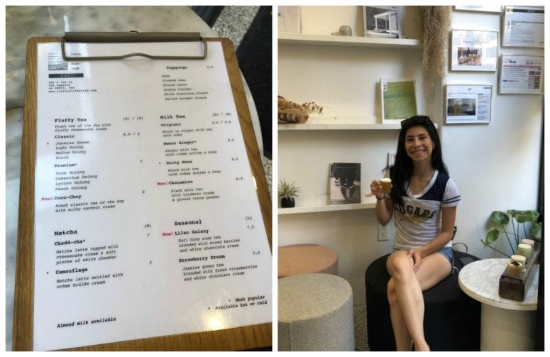 Try Little Fluffy Head Cafe's Cheese Tea| Adventures of
