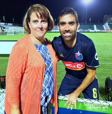 Soccer Double Header with Coastal Credit Union from North Carolina Lifestyle Blogger Adventures of Frugal Mom