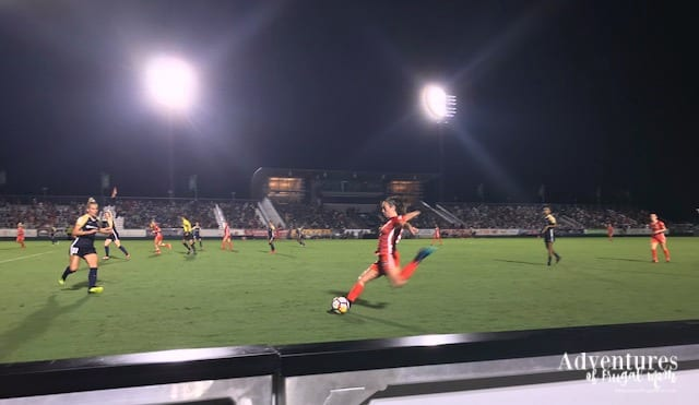 Soccer Double Header with Coastal Credit Union