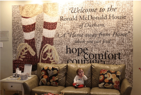 One Heart Warrior's Experience with the Ronald McDonald House from North Carolina Lifestyle Blogger Adventures of Frugal Mom