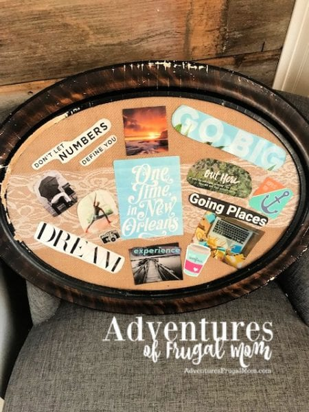 Creating A Vision Board to Help Me Stay on Track