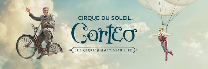 Excited to Be Attending Corteo, a Cirque Du Soleil Production