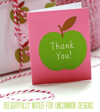 Ways to Say Thank You to the Teacher in Your Life from North Carolina Lifestyle Blogger Adventures of Frugal Mom