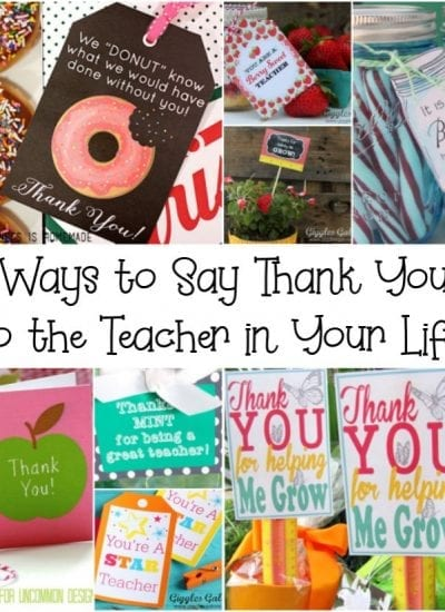 8 Ways to Say Thank You to the Teacher in Your Life