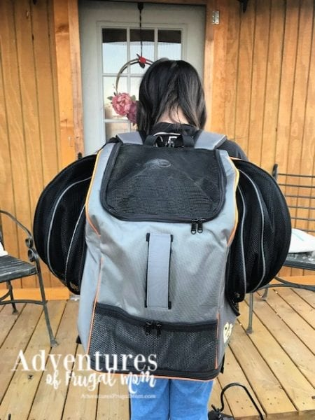 Allie's Riding Backpack Style from North Carolina Lifestyle Blogger Adventures of Frugal Mom