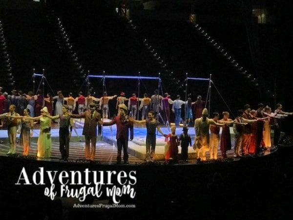 Corteo_ Fun for the Whole Family from North Carolina Lifestyle Blogger Adventures of Frugal Mom