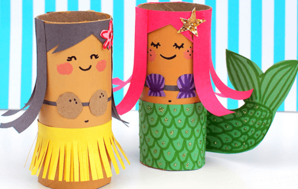 10 Fun & Creative Toilet Paper Roll Craft Ideas from North Carolina Lifestyle Blogger Adventures of Frugal Mom