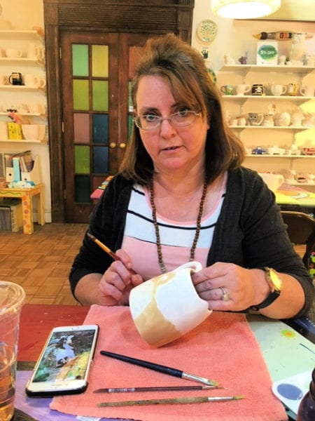 Letting Our Creative Side Take Flight at Greg's Pottery from North Carolina Lifestyle Blogger Adventures of Frugal Mom